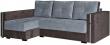 Угловой диван «Мелисса» вар 2mR.6мL: ткани _418+417_20 группа