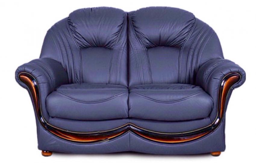 2-х местный диван Дельта, кожа натуральная
