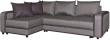 Угловой диван «Чарли» вар.2mR.6L: ткани _830+874_18 группа