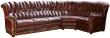 Угловой диван «Европа» (3мL/R901R/L), Материал: натуральная кожа, Группа ткани: 120 группа