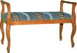 Скамья «Элис 02» П292-02, Материал: ткань, Цвет: Дуб рустикаль с патинированием