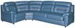 Угловой диван «Родео» вар 3mR.90.1L:_натуральная кожа 3344_120 группа