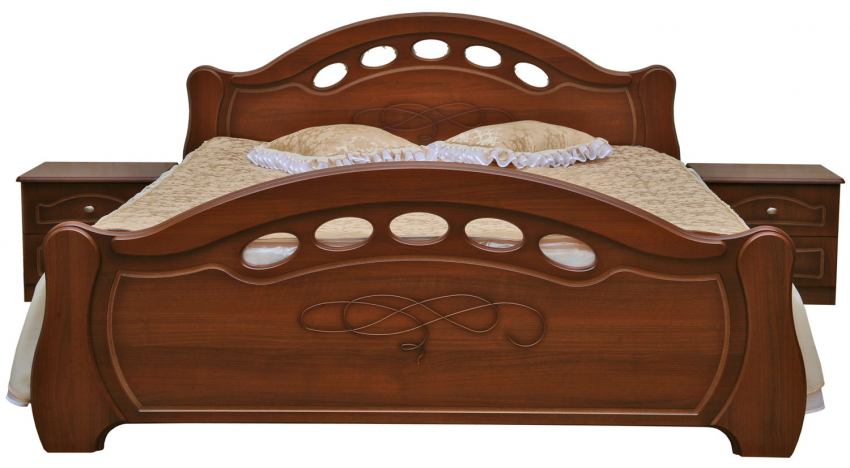 Кровать «Александра» П251.51, Материал: основание кровати: каркас из ДСП, Цвет: Каштан (krovat_dvoinaya_aleksandra_p251_51_kashtan5abc94f6f2ed9.jpg)