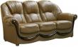 3-х местный диван «Дельта» 3м натуральная кожа 2066)120 группа