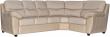 Угловой диван «Плаза» вар. 3ml.90.1R:  кожа натур+искуств, 1065-4065_115 группа