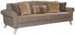 3-х местный диван «Николь» 3M:   ткани 30808-820-30807_19 группа