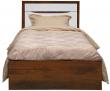 Кровать одинарная «Монако» П528.11, Цвет: Дуб Саттер+Белый глянец (krovat_monako_p528_11_25c8f47af466cd.jpg)