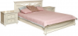 Кровать «Валенсия 3М» П254.52, Цвет: Античная темпера с серебром (krovat_valensiya_3m_p254_52_antich_tempera_serebro.jpg)