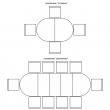 Стол «Верди 4РД» П106.15, Цвет: Дуб рустикаль с патинированием
