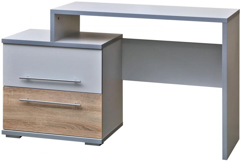 Стол туалетный «Комфорт» П400.06, Материал: ДСП ламинированная, Цвет: Дуб Сонома+серый