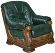 Кресло «Консул 23» (12), Материал: натуральная кожа, Группа ткани: 120 группа