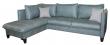 Угловой диван «Осирис» вар.2mR.6L,  ткани: 442+30280_19 группа