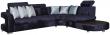 Угловой диван «Минор» вар. 3mL.90.4R:  ткани: 587-587(0)-31236_23 группа