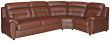Угловой диван «Родео» вар 3mL.90.1R:_натуральная кожа 3347_120 группа