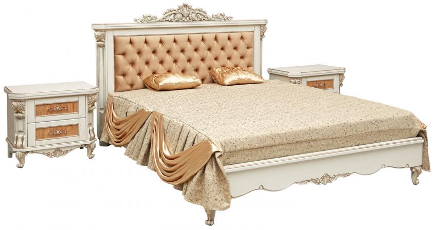 Кровать двойная «Альба 16/1пк» П524.05/1к, Цвет: Слоновая кость с золочением (krovat_dvoynaya_alba_16-1pk_p524_05-1k5b2374fc4dd4a.jpg)