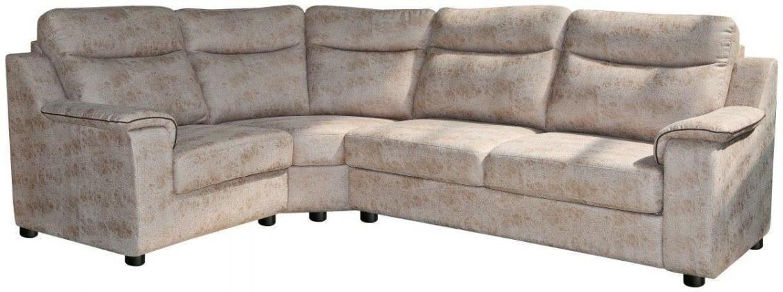Угловой диван «Люксор» вар. 3mR.90.1L:  ткань 947+kant570_20 группа.