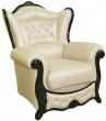 Кресло «Патриция» (12), Материал: натуральная кожа, Группа ткани: 120 группа