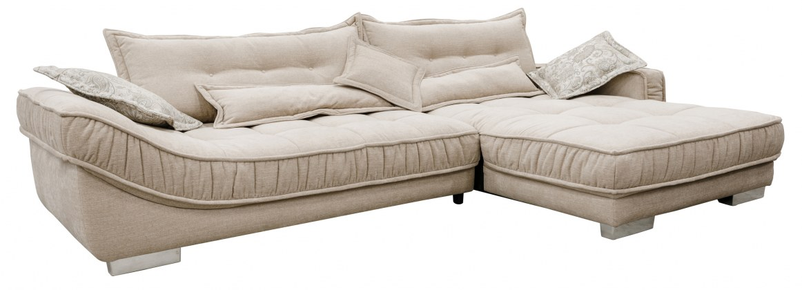 "Угловой диван ""Хиллари"" вар 2L.6R: ткани_251+31214_20 группа"
