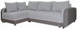 Угловой диван «Чарли 1» вар.2mR.6L: ткани 30261+897  18 группа