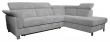Угловой диван «Клео»  вар.2mL.5mR: ткань 800_19 группа
