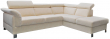 Угловой диван «Клео»  вар.2mL.5mR:  ткань: 30233_26 группа