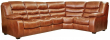 Угловой диван «Манчестер 1» вар 3mL.90.1R:натуральная кожа  140 группа