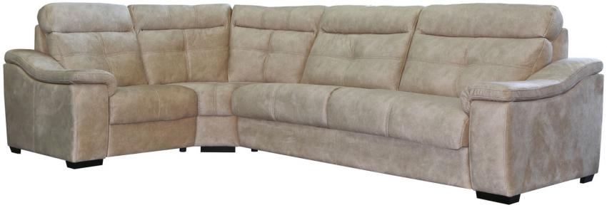 Угловой диван «Барселона» вар 3mR.90.1L: ткань 563_ 21 группа