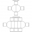 Стол «Верди 14» П323.01, Цвет: Дуб рустикаль с патинированием