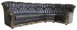 Угловой диван «Европа» (3мL/R901R/L), Материал: натуральная кожа, Группа ткани: 140 группа