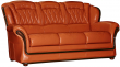 3-х местный диван «Бакарди» 3М кожа нат 2024_140 группа