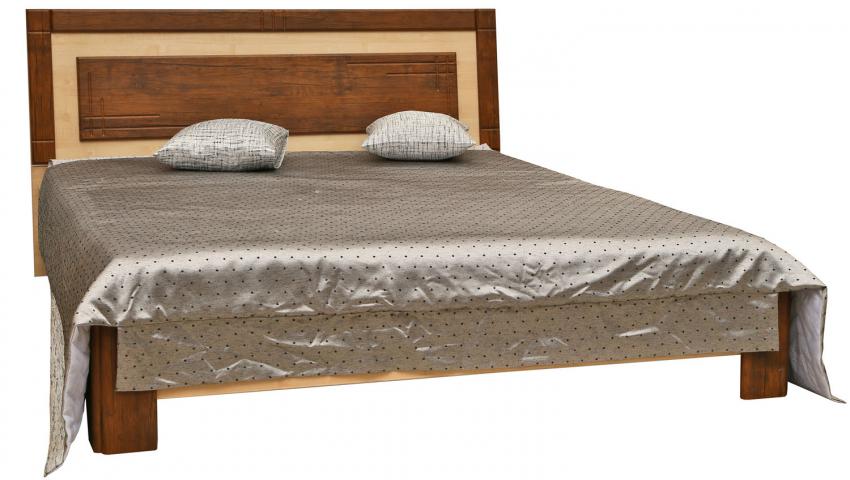 Кровать двойная «Эстель» П385.05, Цвет: Дуб Антик+клен Танзау (krovat_dvoinaya_estel_p385_05_2.jpg)
