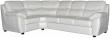 Угловой диван «Плаза» вар. 3mR.90.1L: натуральная кожа 2065_ 120 группа