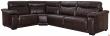 Угловой диван «Исландия»  вар 3mR.90.1L: натуральная кожа 2324_ 140 группа