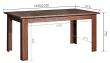 Стол раздвижной «Гресс» П501.22, Цвет: Дуб Сонома (gress_