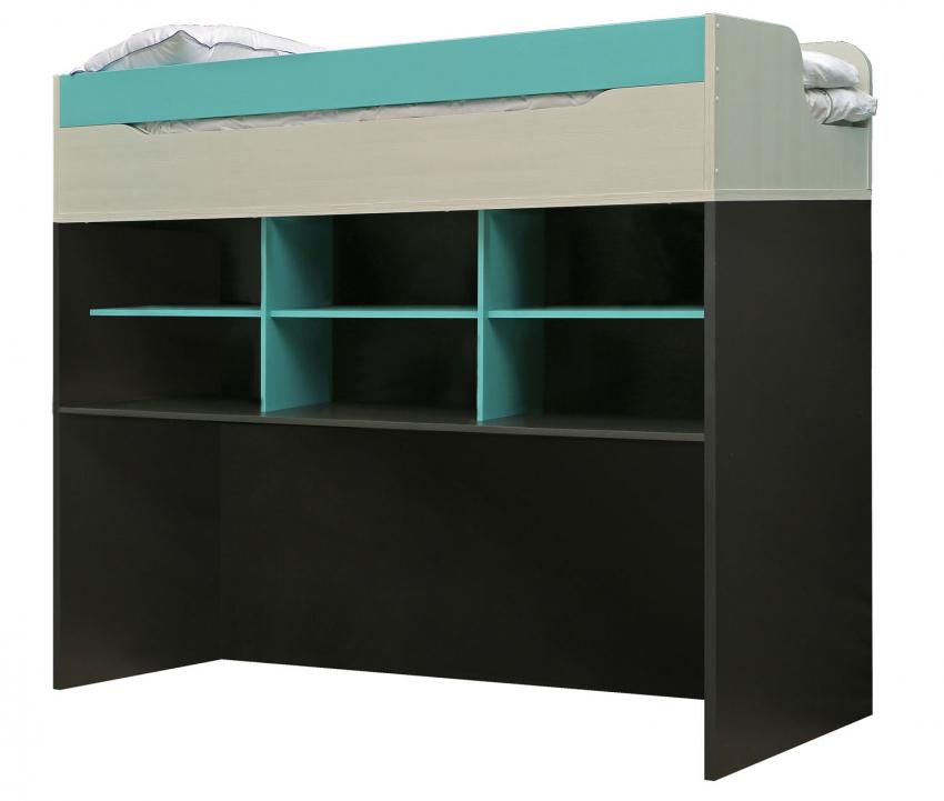 Кровать-чердак «Балу» П039.122, Материал: ДСП ламинированная (krovat-cherdak_balu_p039_1225b0518da49d29.jpg)