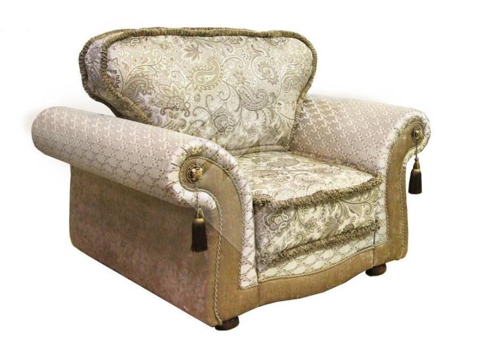 Кресло  Азалия MM-280-03P: вар. серебро