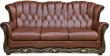 3-х местный диван «Европа» (3м) натуральная кожа 120 группа