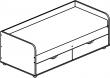 Кровать «Балу» П039.121, Материал: ДСП ламинированная (krovat_balu_p039_121_shema5acda6dca6fdb.jpg)