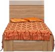 Кровать «Комфорт» П400.02-2, Материал: ДСП ламинированная, Цвет: Дуб Сонома+серый (krovat_komfort_p400_02-2_2.jpg)