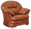 Кресло «Йорк» (12), Материал: натуральная кожа, Группа ткани: 120 группа