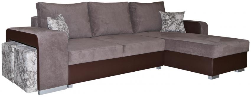 Угловой диван «Mirage (Мираж)» (2мL/R6R/L), Материал: ткань, Группа ткани: 19 группа