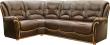 Угловой диван «Леонардо 2» (3мL/R901R/L), Материал: натуральная кожа, Группа ткани: 120 группа