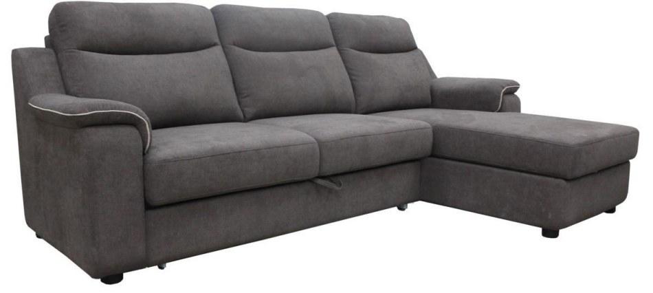 Угловой диван «Люксор»  вар. 3мL.8мR: ткань, 19 группа