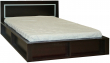 Кровать двойная «Луксор» П475.05, Цвет: Мокко (krovat_luxor_p475_05_mokko_2.jpg)