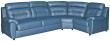 Угловой диван «Родео» вар 3mL.90.1R:_натуральная кожа 3344_120 группа