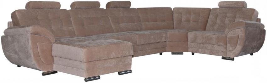 Угловой диван «Редфорд» вар. 1R.90.30m.8mL: ткань _433_20 группа