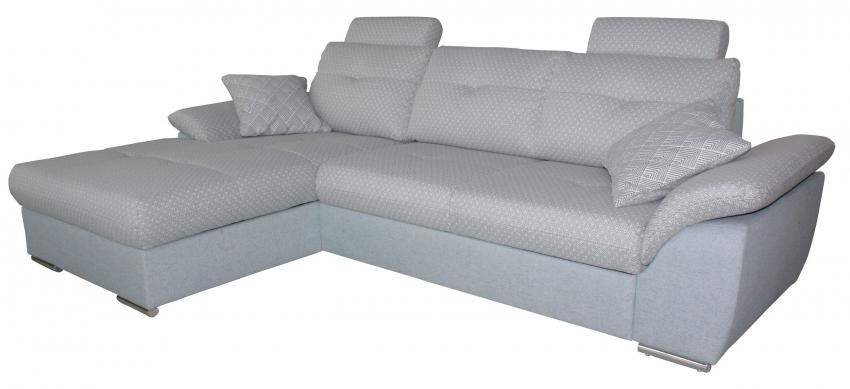 Угловой диван «Аризона» вар. 2mR.8mL:  ткани: 30262+183+30280_19 группа