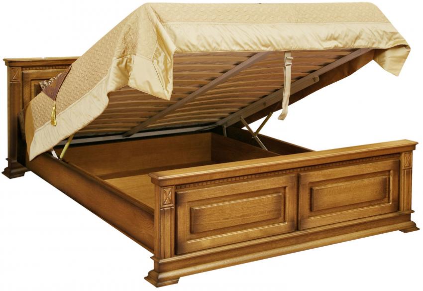 Кровать «Верди Люкс» П434.08п с подъёмным механизмом, Цвет: Дуб рустикаль с патинированием (krovat_dvoinaya_verdi_p434_08p_dub_rustikal_patinir.jpg)