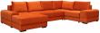 Угловой диван «Авеню» вар. 8mL.20m.90.1R: ткани: 20 группа