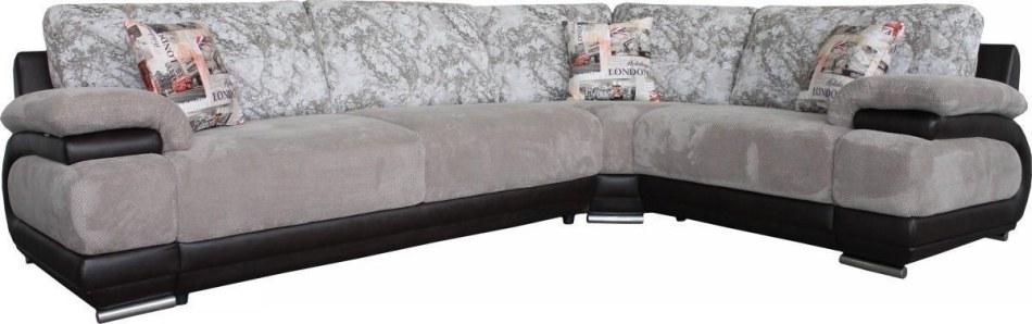 Угловой диван «Валлетта» вар. 3mL.90.1R) ткани: 800-136-30027-944_19 группа